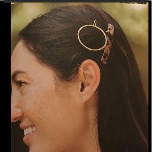 Machete Hair Clips set of 2
